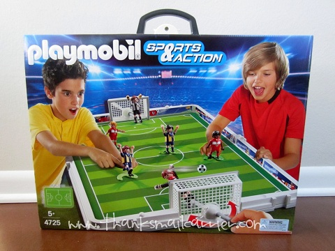 Playmobil Take Along Soccer Match review