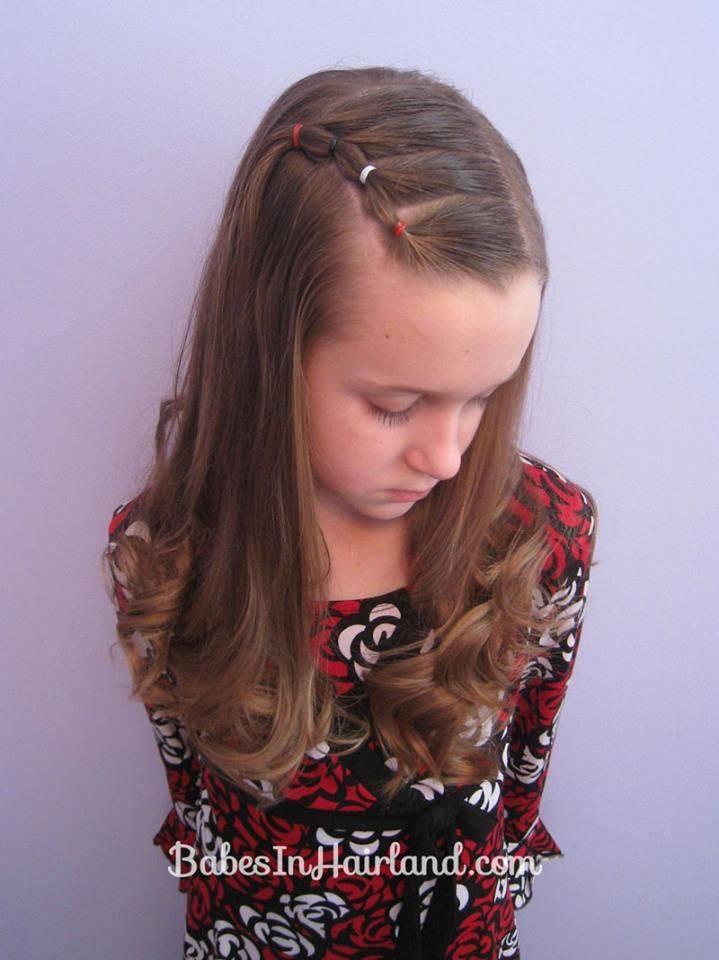 GAMBAR Cara Kreatif Ikan Rambut Anak Perempuan MariaFirdz - Gaya rambut pendek budak perempuan
