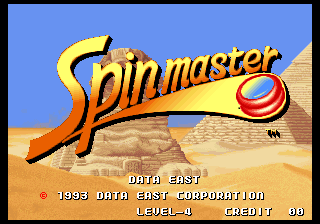 Spinmaster Game