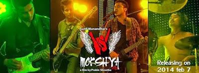 Mokshya nepali film poster