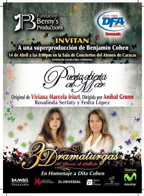"""""""Puerta Abierta al Mar"""" con Rosalinda Serfaty y Fedra Lopez"""