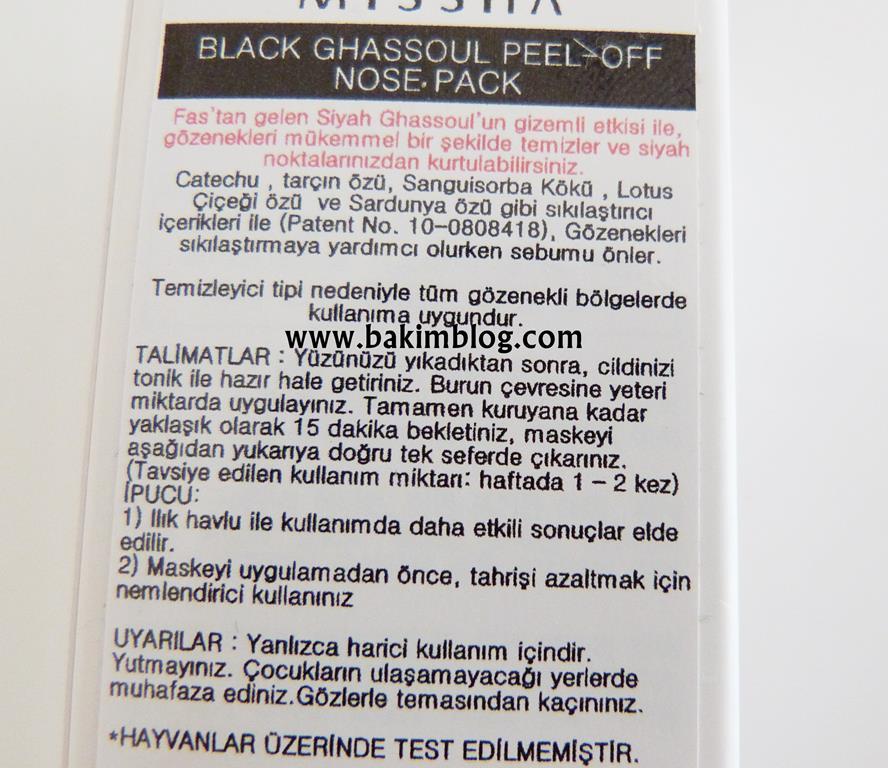 siyah nokta temizleyici tavsiye blog