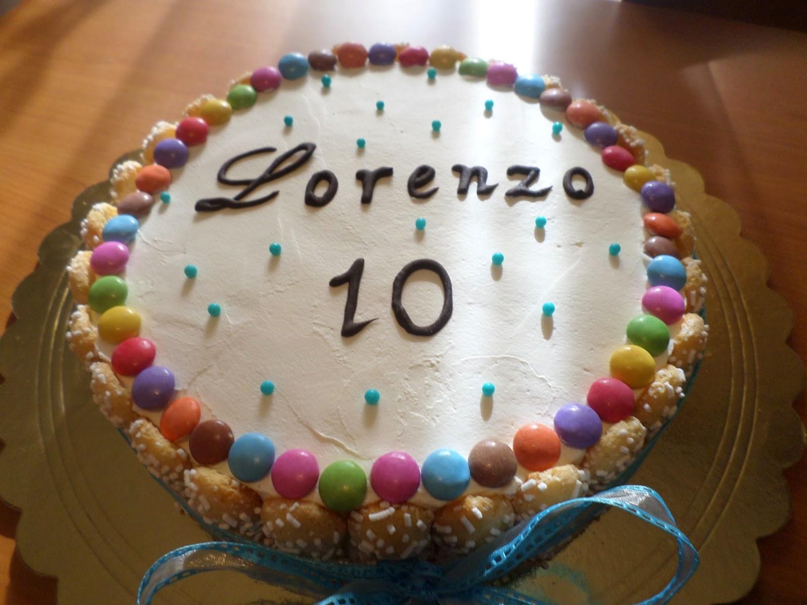Uno Per Torta Torte Per Tutti Torta Con Smarties E Crema