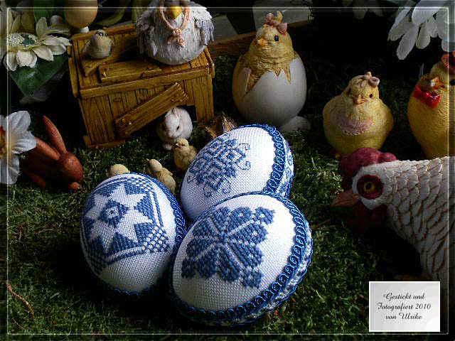 Пасхальные яйца вышитые 62