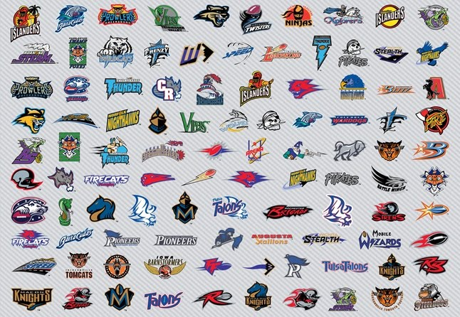156 american football logos vector art download