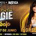 Angie Jibaja en Rústica de Arequipa - 27 de junio