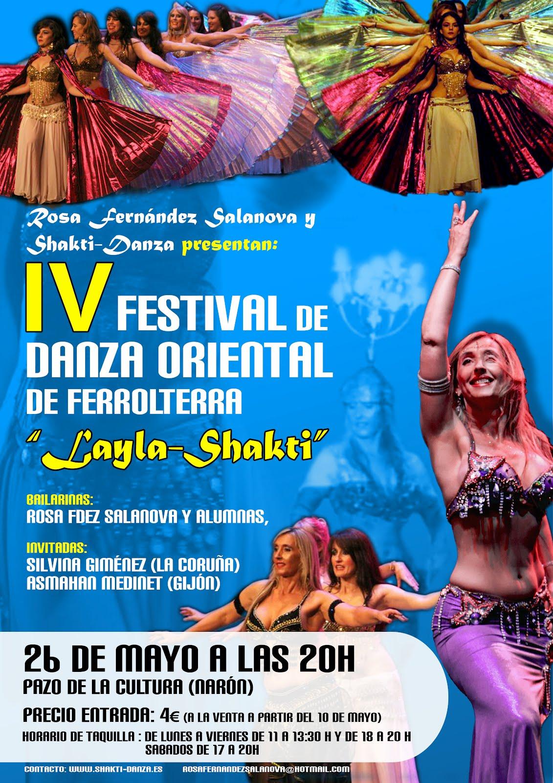 """Festival de Danza Oriental """"Layla-Shakti"""""""
