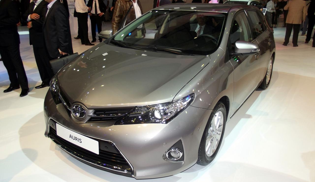 2013 Toyota Auris İstanbul Autoshow'da
