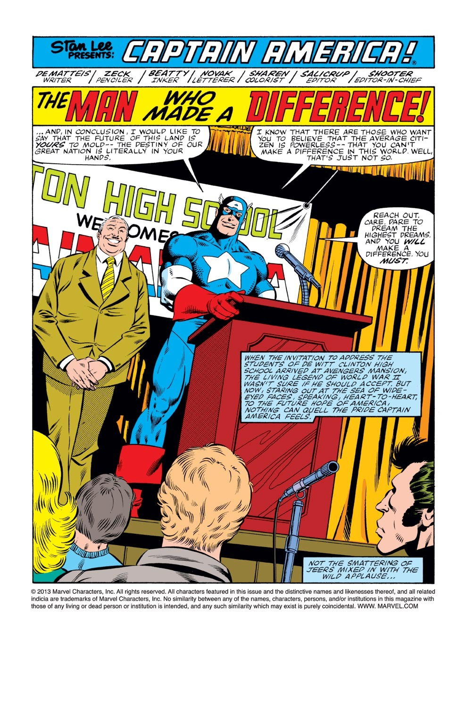 Captain America (1968) Issue #267 #182 - English 2
