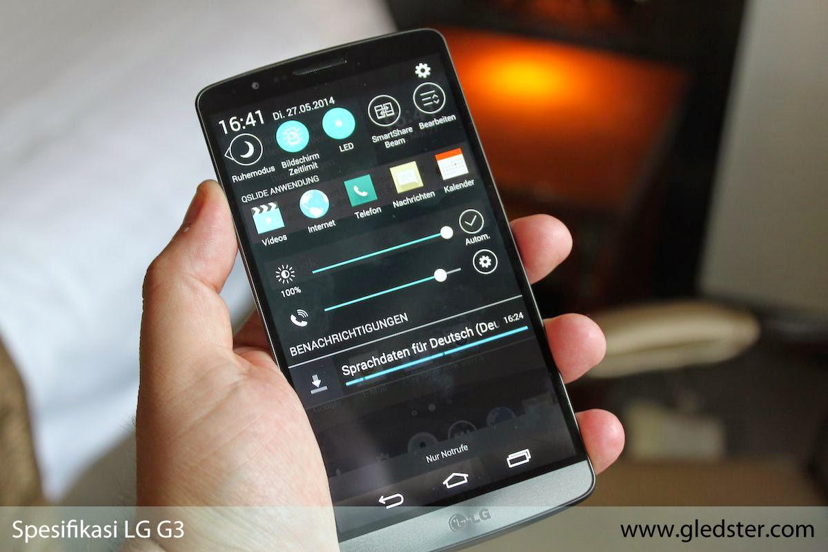 Spesifikasi LG G3