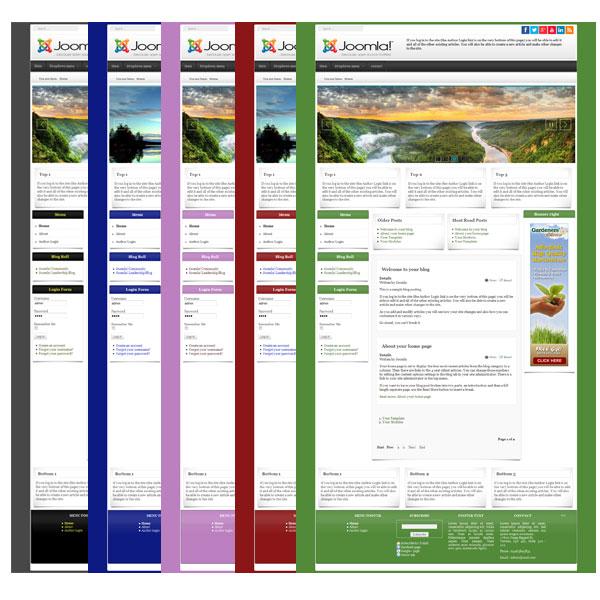 Free Template joomla 3.9 - 3.8