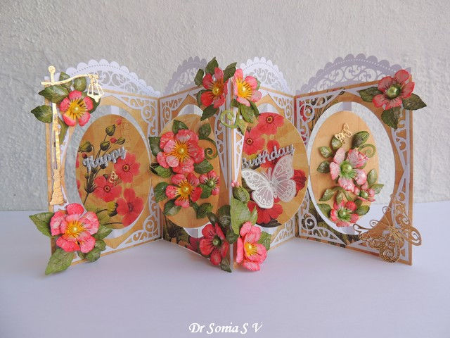 cards crafts kids projects pop up accordion card