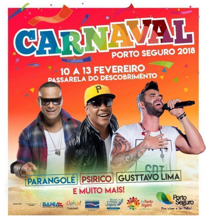 Carnaval de Porto Seguro de 10 a 13 Fev