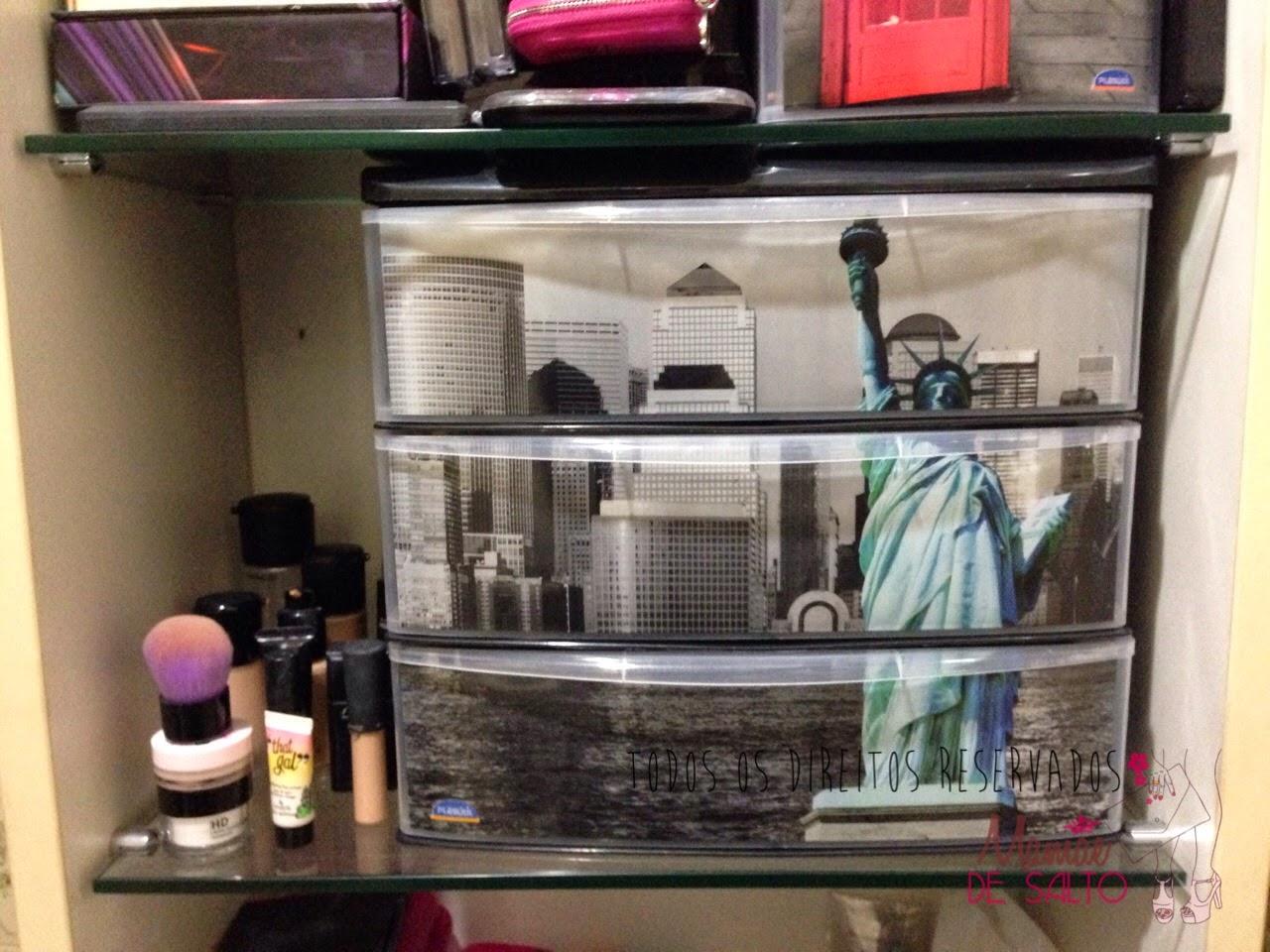 gaveteiro metrópole nova york plasútil blog mamãe de salto