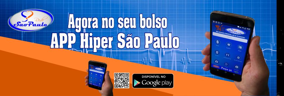 App do Hiper São Paulo
