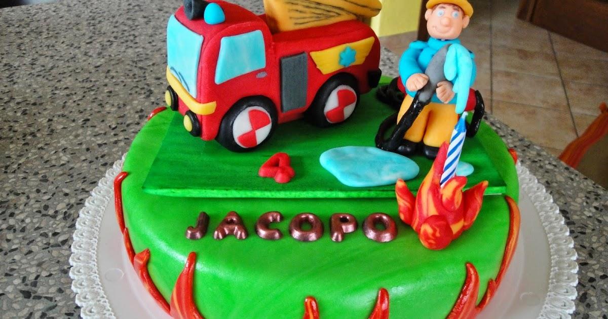 Arcobaleno di zucchero torta quot sam il pompiere