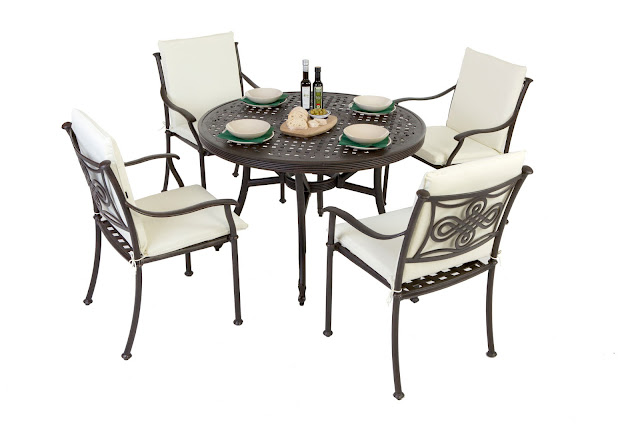 aluminium garden furniture sets
