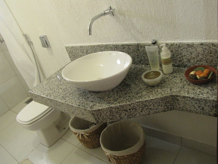 Construindo Nossa Casa Banheiro, cimento queimado e porta de entrada!! -> Como Fazer Pia De Banheiro Com Cimento Queimado