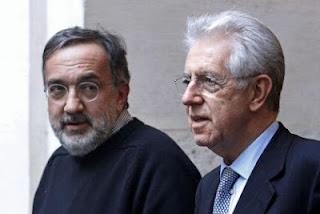 Marchionne e Monti, annuncio investimento un miliardo