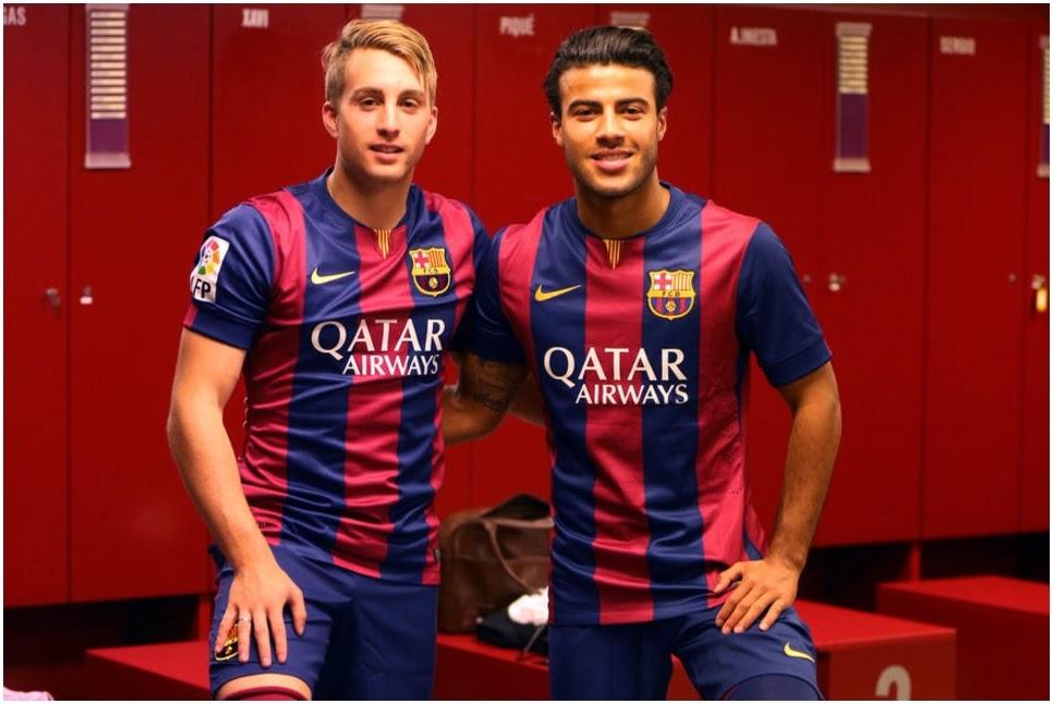 Jersey Player Issue FC Barcelona Terbaru Musim 2014-2015
