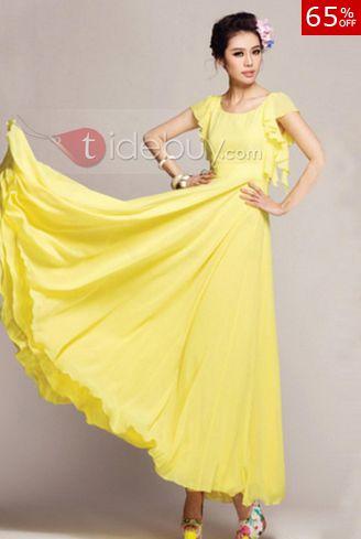 tidebuy sweet yellow wishlist