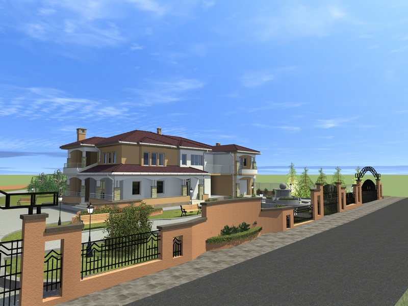 Modern residential homes complex designs ideas interior for Residential home design
