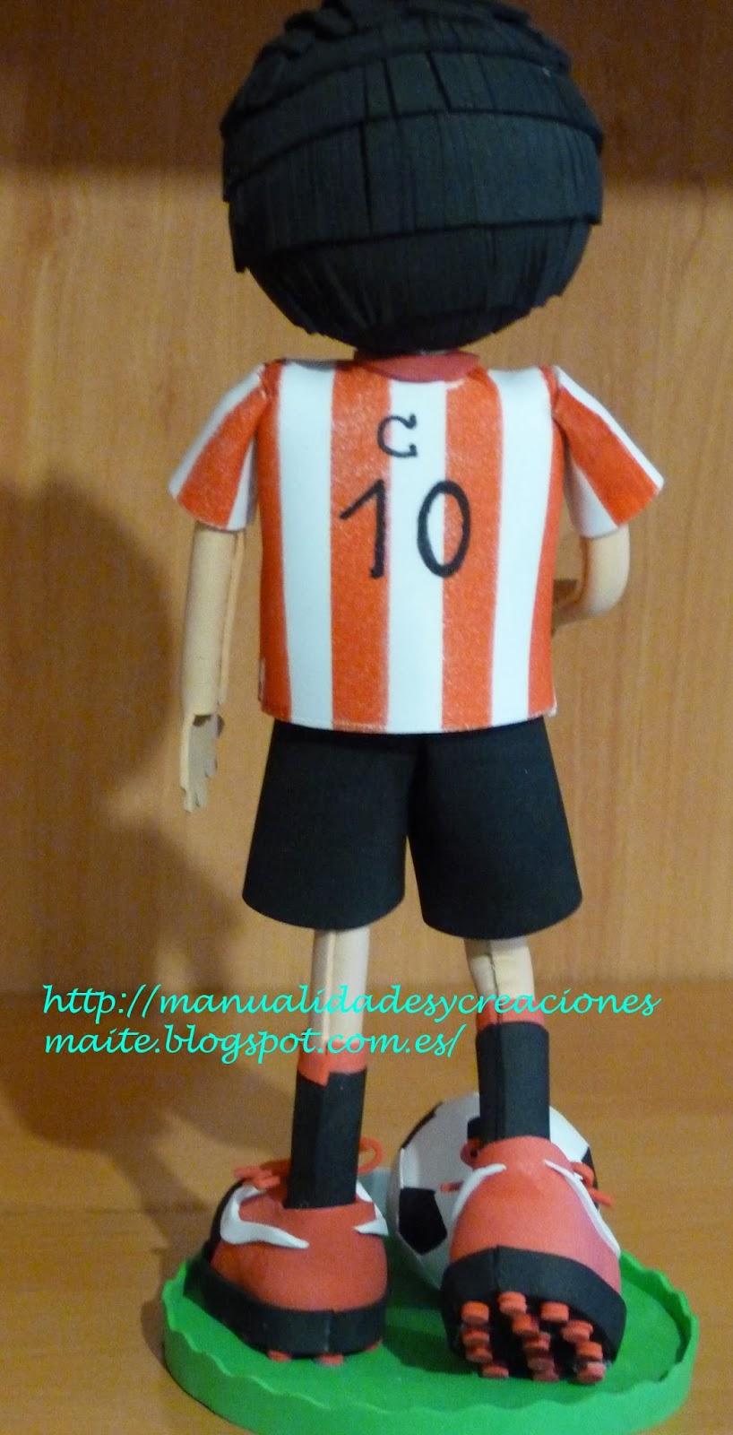 Fofucho Futbolista Athletic De Bilbao Personalizado