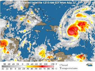 Hurricane En El Caribe en VIVO