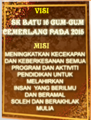 VISI &amp; MISI SEKOLAH