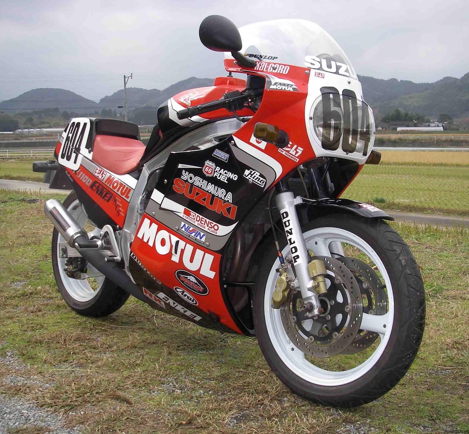 """DD Motorcycles: SUZUKI GSX R750 F 1985 """"Slabby"""" """"Slabside"""""""