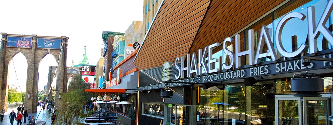 The CUISINEIST Shake Shack In Las Vegas You Bet