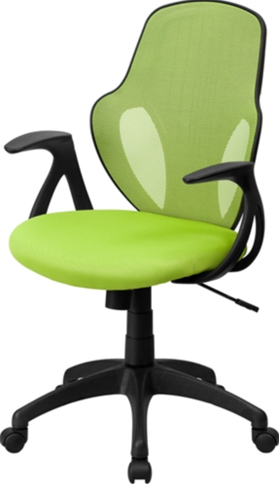 Flash Furniture Mid Back Green Office Chair