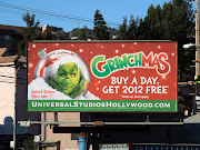 Universal Studios Hollywood Grinchmas 2011 billboard (universalstudios grinchmas billboard)