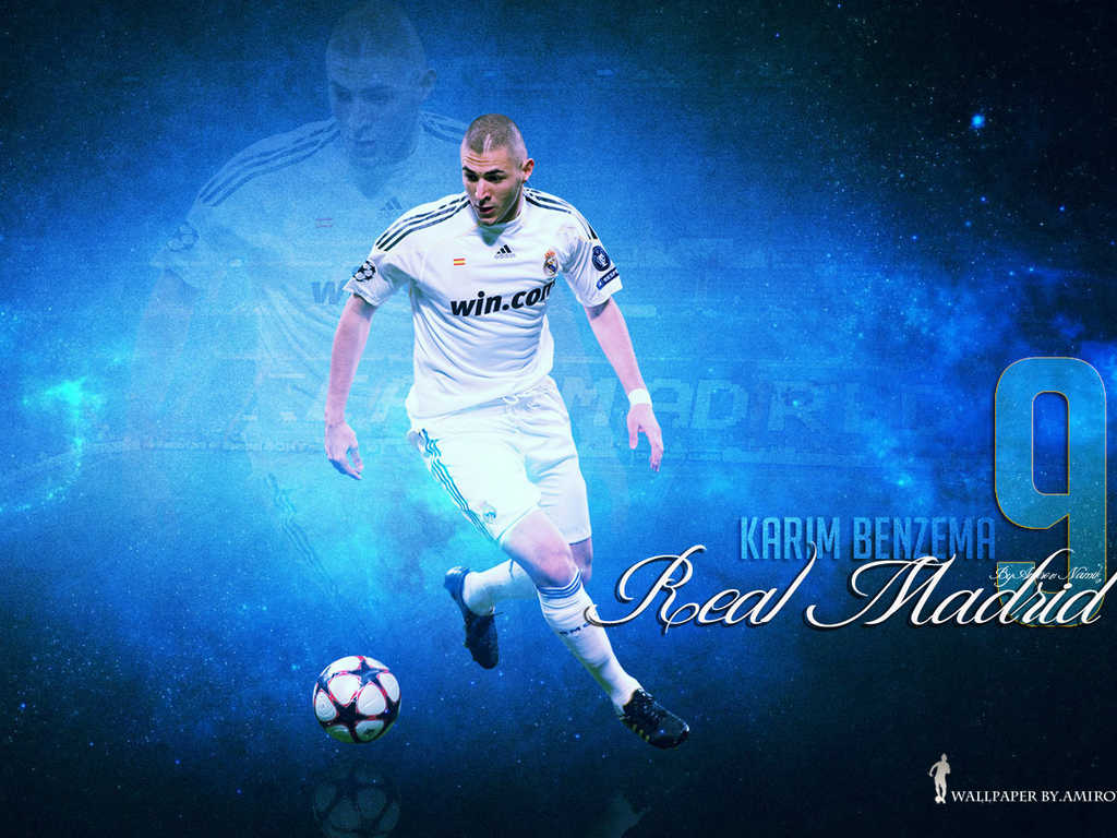 Karim Benzema Real Madrid  2012  Wallpaper
