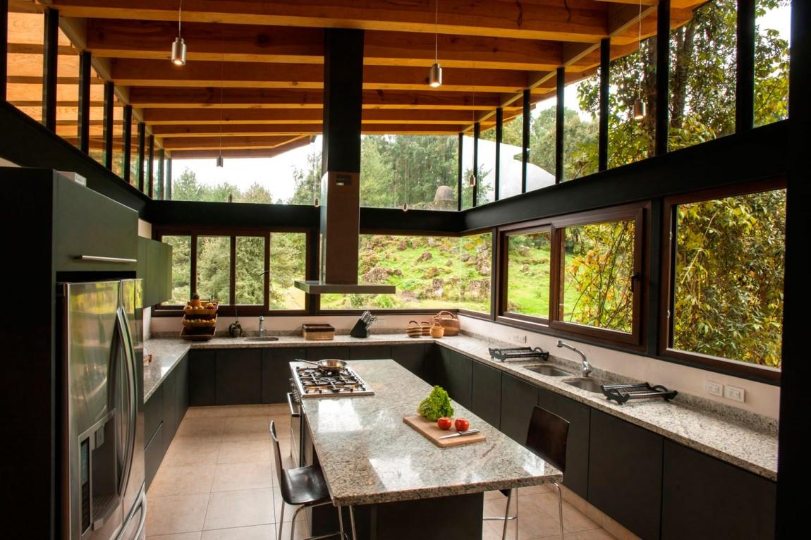 Cozinha Americana Grande Com Ilha Cozinhas Americanas Apto With