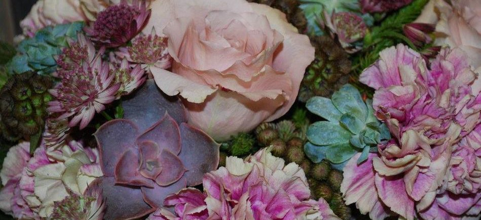 Close Up Of A Signature Arrangement From Anne Paterson S Flowers