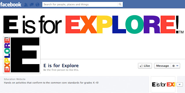 http://www.facebook.com/pages/E-is-for-Explore/342413275876071?ref=hl