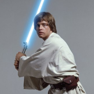 Luke Skywalker en el concurso Star Wars