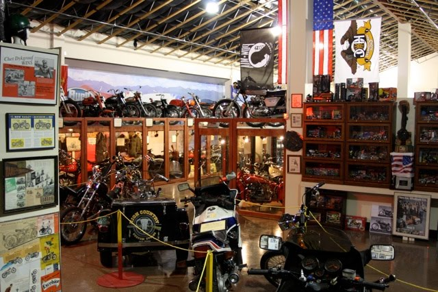 Rocky mountain motorcycle museum inside the rocky for Rocky mountain motor sports