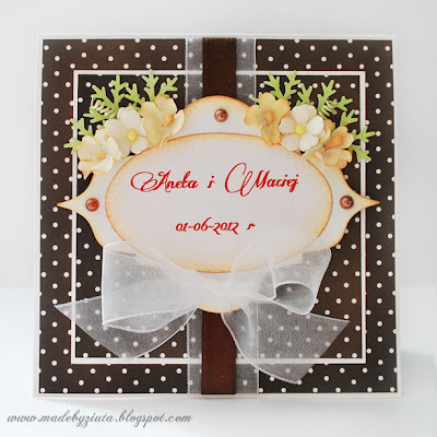 kartki okolicznościowe, kartka ślubna, kartka na wesele, barbara wójcik