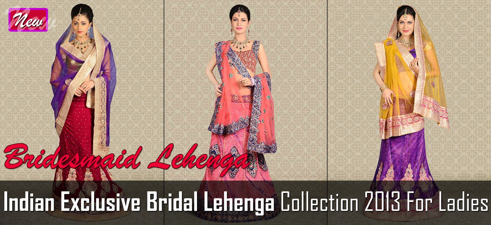 Indian Bridal Lehenga Collection 2013 Bridesmaid Lehenga Designs New Lehenga Choli Collection Fashion World Hunt,Small Space Design Ideas For Small Kitchens