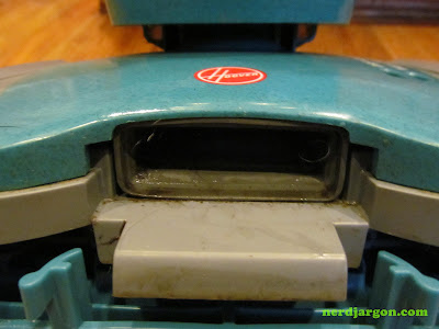 Hoover FloorMate H2800 nozzle intake