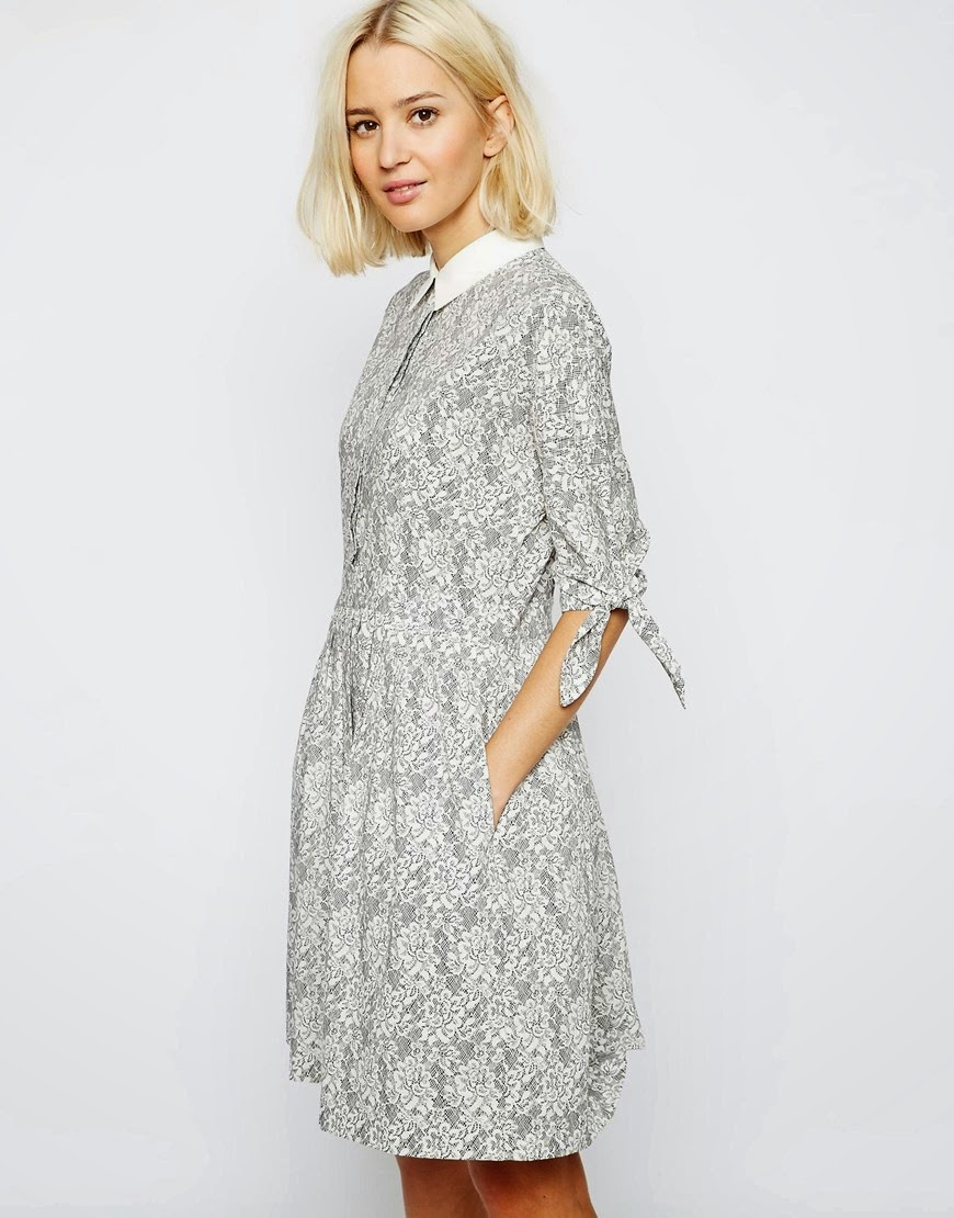 laden showroom lace dress,