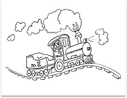 Blog de los niños: El tren saltamontes