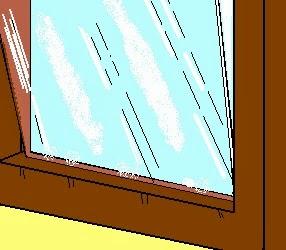 Lavori creativi fai da te an online help come si rimuove e si sostituisce un vetro rotto in - Tagliare vetro finestra ...