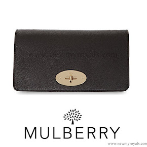 Kate Middleton Style Mulberry Bayswater Clutch.