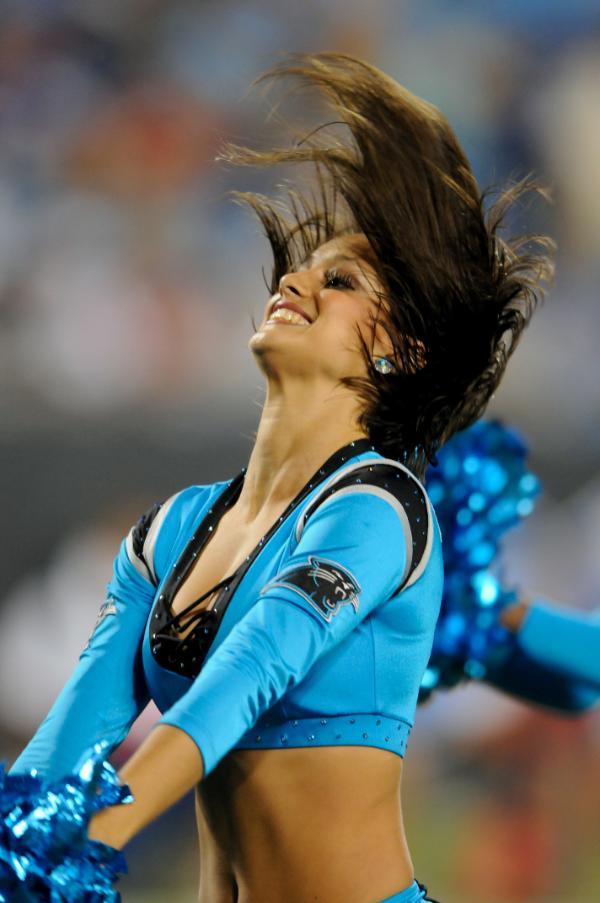 The Cheer Locker Carolina Panthers Topcats