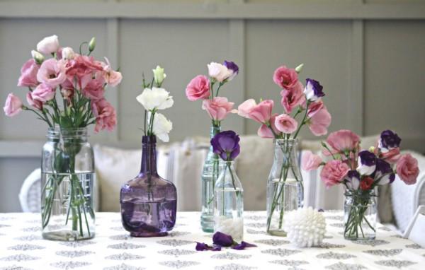 Cắm hoa trang trí phòng khách 17