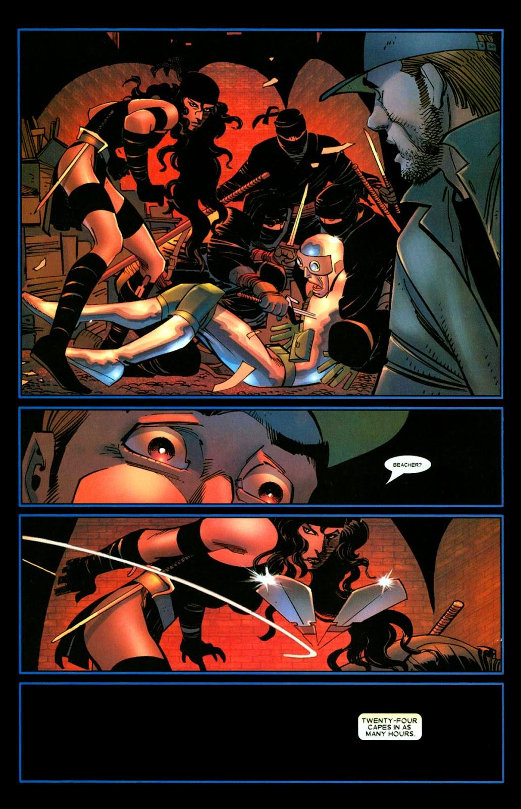 Read online Wolverine (2003) comic -  Issue #26 - 11
