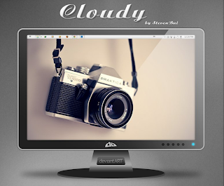 full version pc theme windows 7 Cloudy Mac